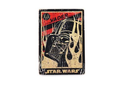 фото 1 - Постер Star Wars #4 Vader Wood Posters 200 мм 285 мм 8 мм
