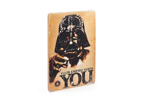 зображення 3 - Постер Star Wars #5 You Empire Needs YOU Wood Posters 200 мм 285 мм 8 мм