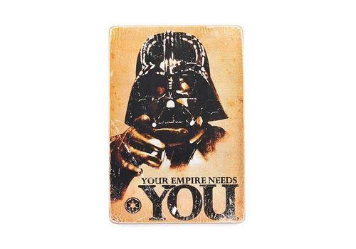 зображення 1 - Постер Star Wars #5 You Empire Needs YOU Wood Posters 200 мм 285 мм 8 мм