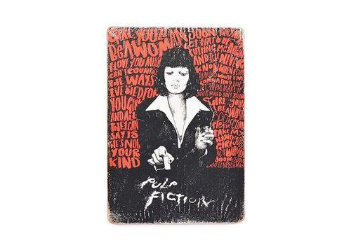 фото 1 - Постер Pulp Fiction #2 Mia Art Wood Posters 200 мм 285 мм 8 мм