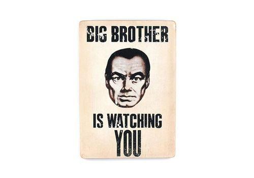 """зображення 1 - Постер """"Big Brother is wanching You"""""""