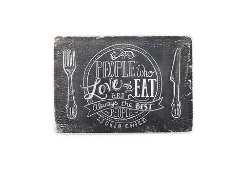 """зображення 1 - Постер """"People who love to eat"""""""
