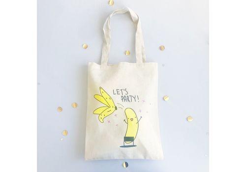 "фото 3 - Эко-сумка Papadesign ""Банан"" 41*37*27"