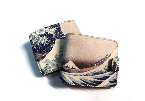 "зображення 2 - Гаманець Just cover ""Японська хвиля"" 11 х 12,5 см"