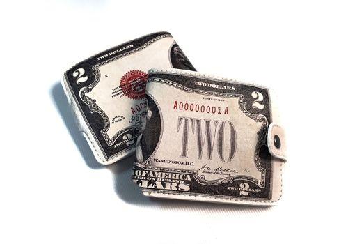 "фото 2 - Кошелек Just cover ""Доллар"" 11 х 12,5 см"