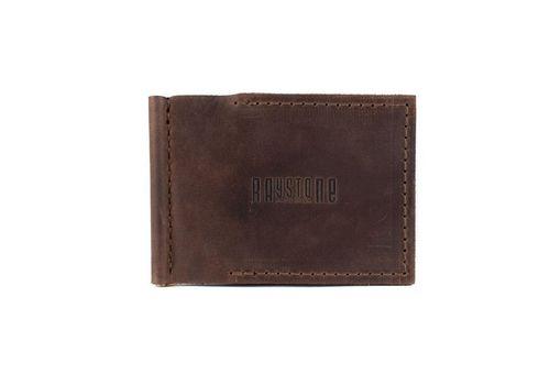 """зображення 1 - Зажим для грошей """"Raystone"""" коричневий"""