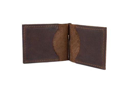 """зображення 2 - Зажим для грошей """"Raystone"""" коричневий"""