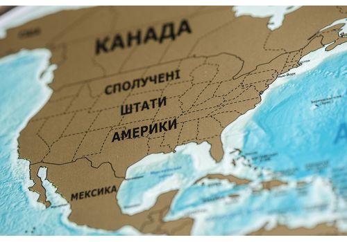 зображення 10 - Скретч карта світу на російській мові в ретро стилі Набір Vintage RU 88х63