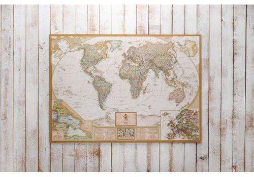 зображення 3 - Скретч карта світу в античному стилі Набір Antique 88х60
