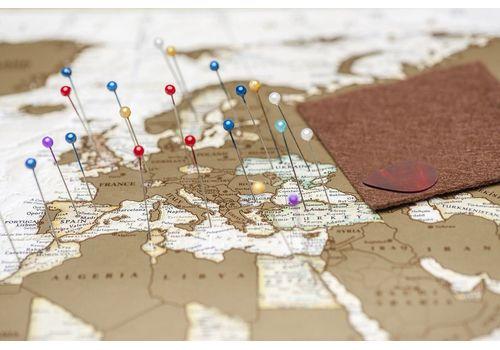 зображення 6 - Скретч карта світу в античному стилі Набір Antique 88х60