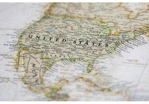 зображення 9 - Скретч карта світу в античному стилі Набір Antique 88х60