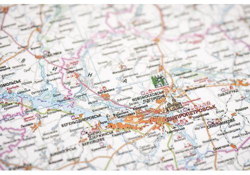 зображення 10 - Детальна карта України на українській мові Набір Native 68х47