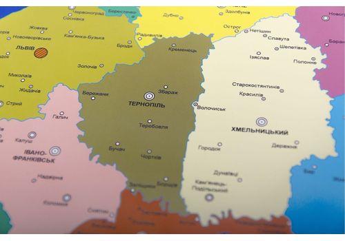 фото 10 - Скретч карта Украины на украинском языке Набор Super Ukraine 68х47