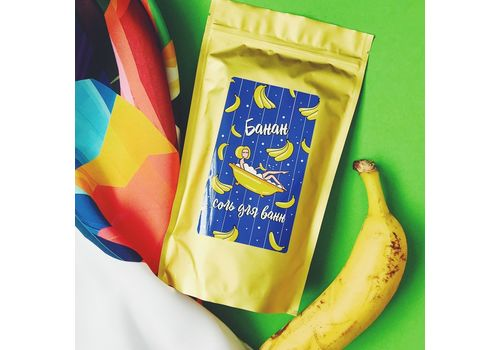 """фото 6 - Соль для ванн """"Банан"""" Papadesign  500 гр."""