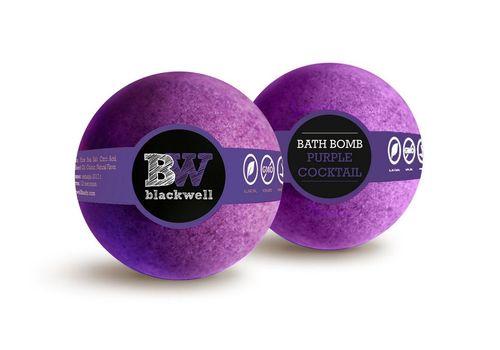 """зображення 2 - Бомбочка для ванної Blackwell body """"Фіолетовий коктейль"""" 150 г."""