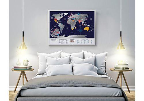 "фото 8 - Скретч-карта 1DEA.me ""Holiday world"" eng (80*60см)"