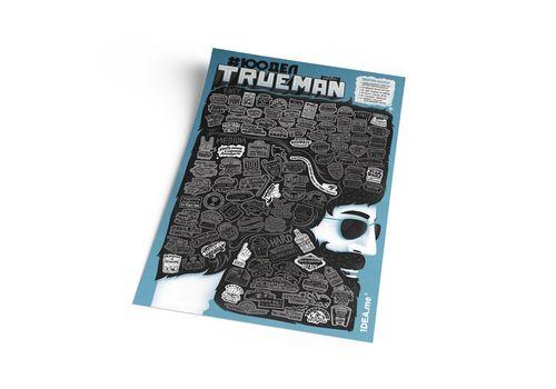 "зображення 4 - Скретч-карта 1DEA.me ""100 дел Trueman"" rus (40*60см)"