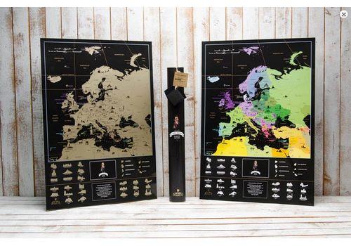 фото 2 - Скретч карта Европы на английском языке My Map Europe edit (ENG) 63х88