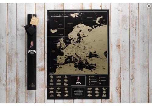 фото 3 - Скретч карта Европы на английском языке My Map Europe edit (ENG) 63х88