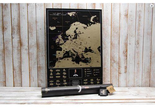 фото 4 - Скретч карта Европы на английском языке My Map Europe edit (ENG) 63х88