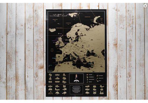 фото 5 - Скретч карта Европы на английском языке My Map Europe edit (ENG) 63х88