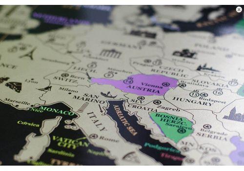 фото 9 - Скретч карта Европы на английском языке My Map Europe edit (ENG) 63х88