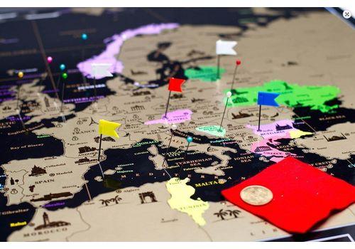 фото 10 - Скретч карта Европы на английском языке My Map Europe edit (ENG) 63х88