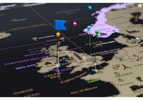 фото 12 - Скретч карта Европы на английском языке My Map Europe edit (ENG) 63х88