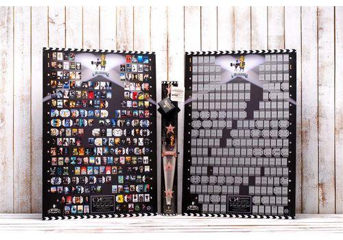 зображення 1 - Скретч постер кінопрем'єр 21-го століття на українській мові  Poster Cinema Edition 21 UKR 68х47
