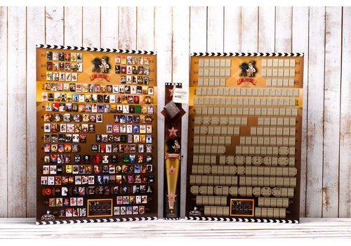 фото 1 - Скретч постер конопремьер 20-го века на английском языке Poster Cinema Edition 20 ENG 68х47