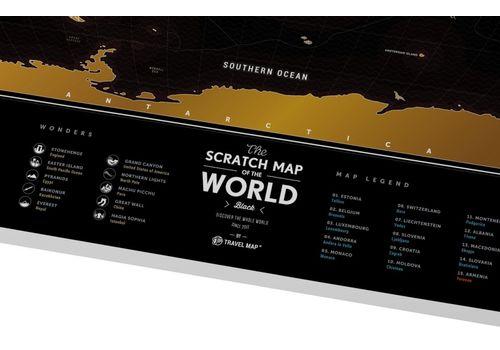 "фото 6 - Скретч-карта 1DEA.me ""Travel map black"" eng (60*80см)"