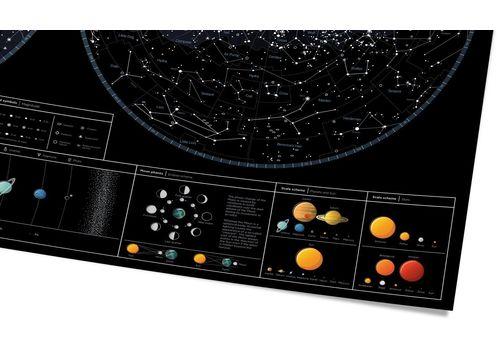 "зображення 6 - Скретч-карта 1DEA.me ""Star map of the sky"" eng (60*80см)"