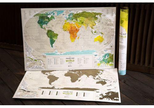 "фото 5 - Скретч-карта 1DEA.me ""Geography world"" eng (88*60см)"