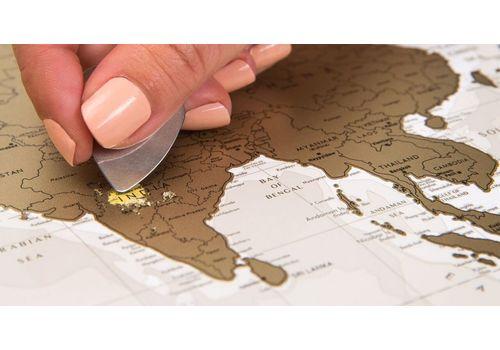 "фото 6 - Скретч-карта 1DEA.me ""Geography world"" eng (88*60см)"