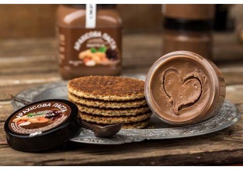"""фото 4 - Паста арахисовая Manteca """"С черным шоколадом"""" 180 г"""