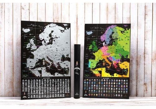 фото 17 - Скретч карта Европы на английском языке My Map Europe edit (ENG) 63х88