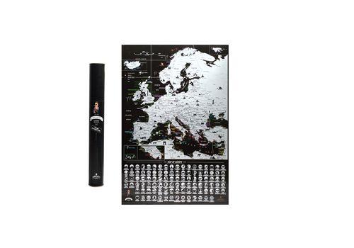 фото 1 - Скретч карта Европы на английском языке My Map Europe edit (ENG) 63х88