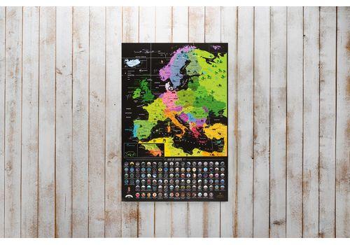 фото 20 - Скретч карта Европы на английском языке My Map Europe edit (ENG) 63х88