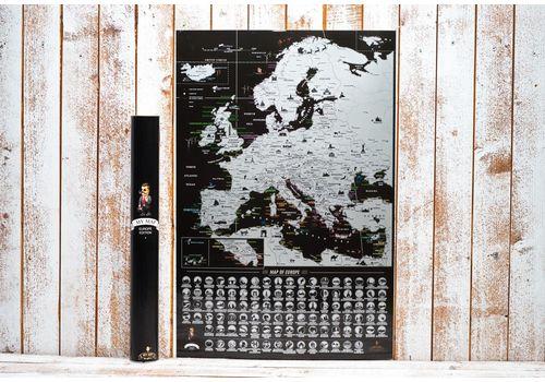 фото 13 - Скретч карта Европы на английском языке My Map Europe edit (ENG) 63х88
