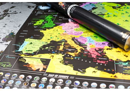 фото 16 - Скретч карта Европы на английском языке My Map Europe edit (ENG) 63х88