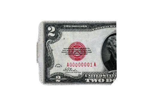 "фото 3 - Кошелек Just cover ""Доллар"" 11 х 12,5 см"