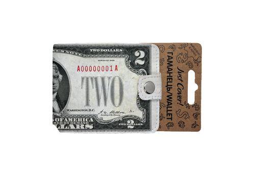 "фото 5 - Кошелек Just cover ""Доллар"" 11 х 12,5 см"