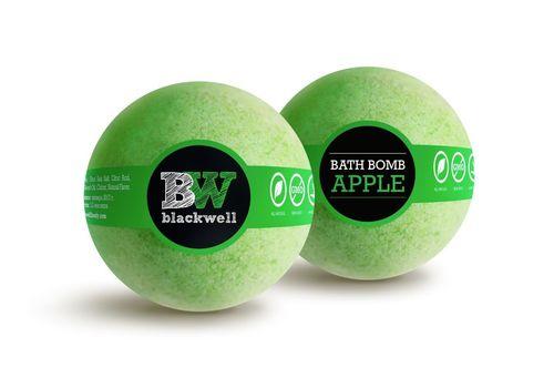 """зображення 2 - Бомбочка для ванної Blackwell body """"Яблуко"""" 150 г."""