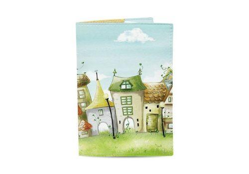 """зображення 1 - Обкладинка на паспорт Just cover """"Чарівні будиночки"""" 13,5 х 9,5 см"""