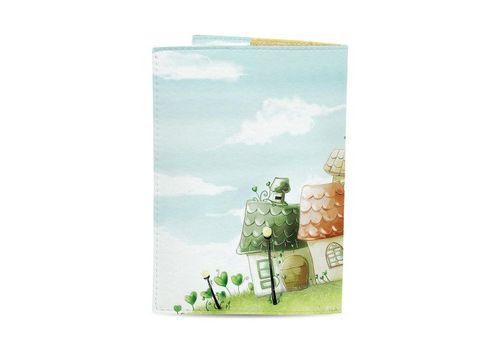 """зображення 3 - Обкладинка на паспорт Just cover """"Чарівні будиночки"""" 13,5 х 9,5 см"""