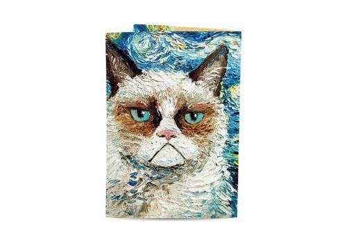 "зображення 3 - Обкладинка на паспорт Just cover ""Ван кот"" 13,5 х 9,5 см"