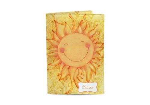"фото 1 - Обложка на паспорт Just cover ""Солнышко"" 13,5 х 9,5 см"