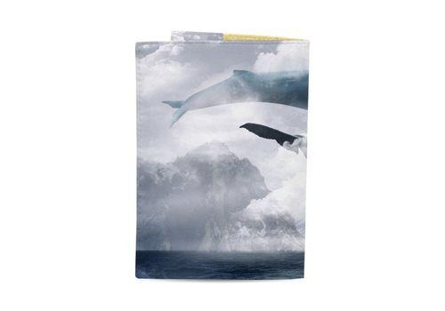 """фото 3 - Обложка на паспорт Just cover """"Киты"""" 13,5 х 9,5 см"""