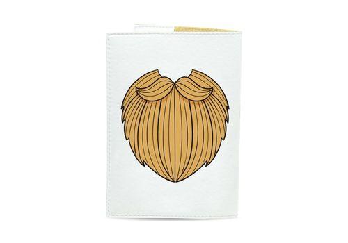 "зображення 3 - Обкладинка на паспорт Just cover ""Борода"" 13,5 х 9,5 см"