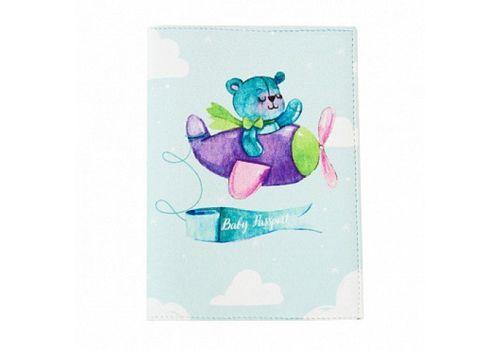 """фото 1 - Обложка на паспорт Just cover """"Детский мишка"""" 13,5 х 9,5 см"""